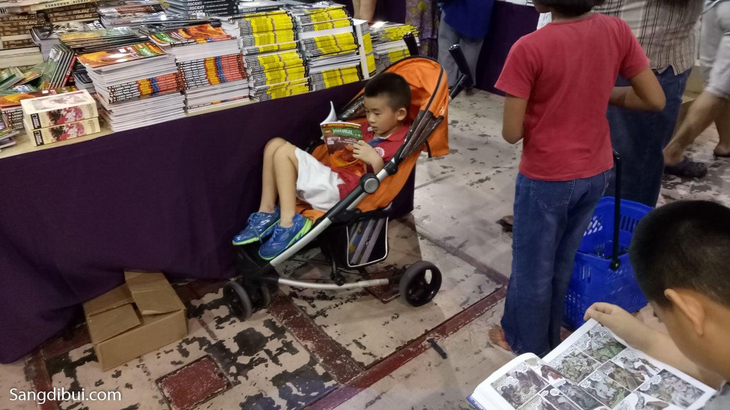 Hội chợ sách Big Bad Wolf book